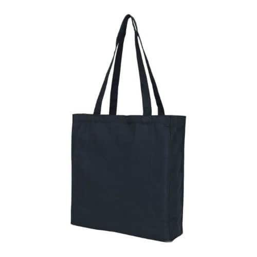 Black Recycled Colored Book Tote
