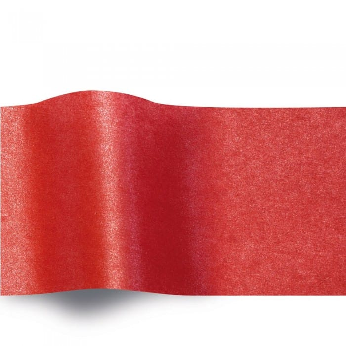 Scarlet Tissue Paper