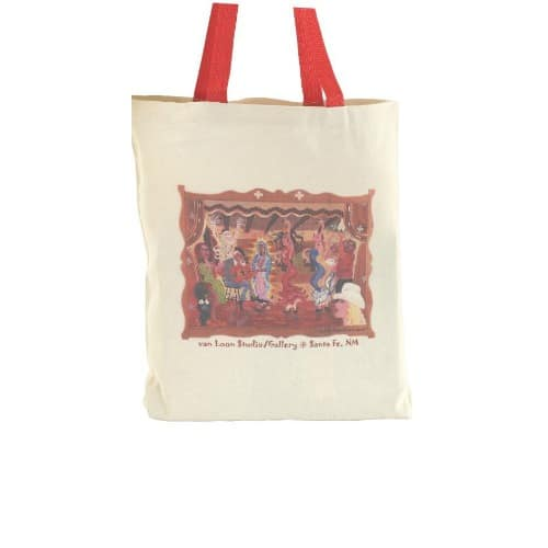 Red Value Gusset Tote