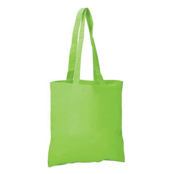 Lime Cotton Bag