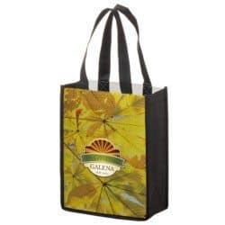 P.E.T. NON-WOVEN SUBLIMATED TOTE BAG