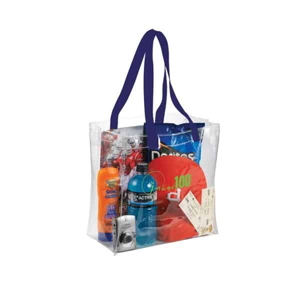 Stadium Rally Clear Tote Bags Transparent Promo Bags