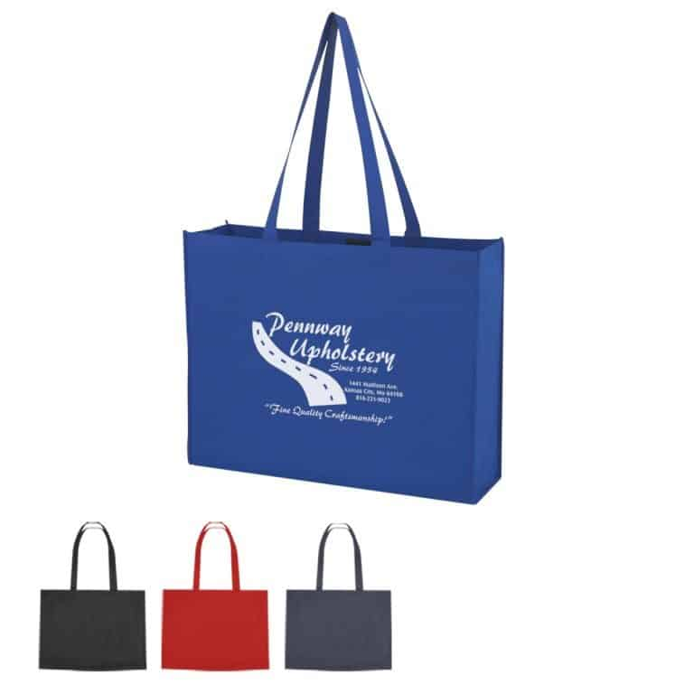 group of shopper totes with hook and loop from Bag ladies