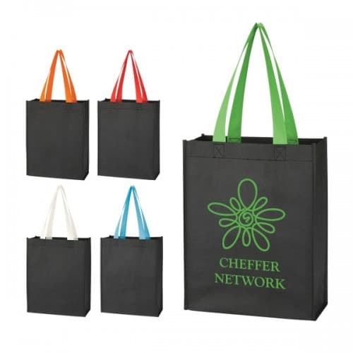 Group of Non Woven Mini Tote Bags