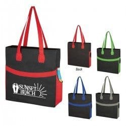 Non woven sahara tote bags from Bag Ladies