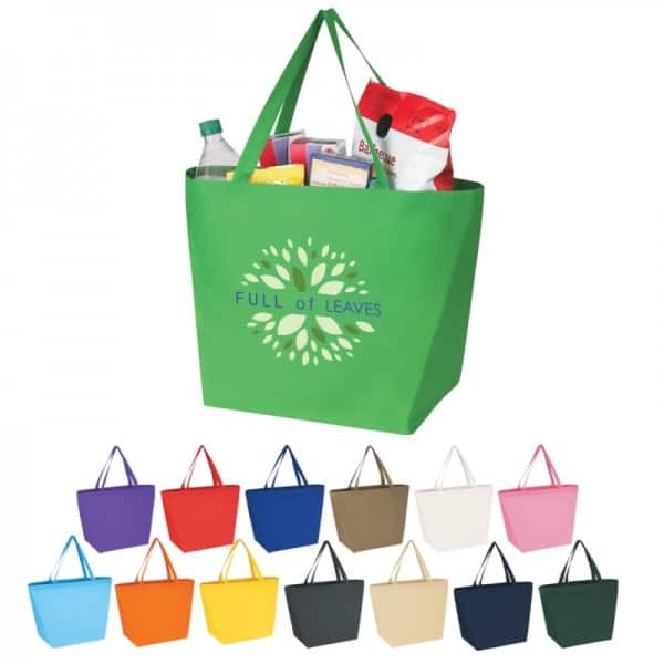 Group of Budget Shopper totes