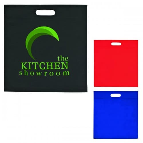 Group of large exhibition tote bags