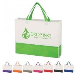 Group of prism tote bags from Bag ladies