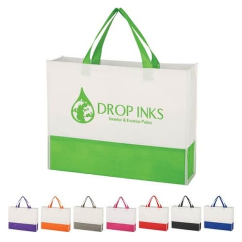 Group of prism tote bags from Bag ladies