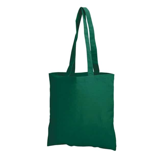 Forest Green Cotton Bag