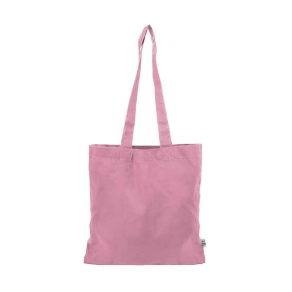 pink cotton bags