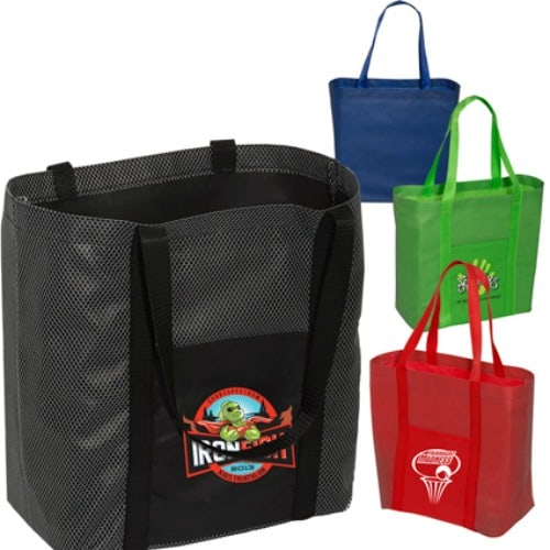 Group of Go Go Shopper Totes