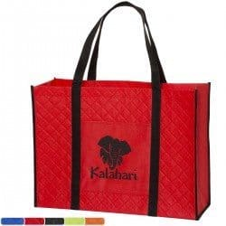 Group of Quilted Tote Bags