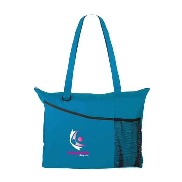 Teal Conference Tote